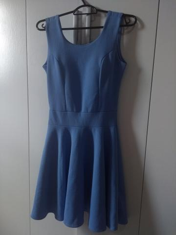 Vestido azul (tamanho único) - Foto 3