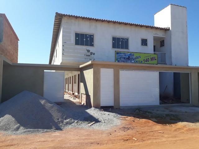 Casas com duas suítes , aceita financiamento Caixa