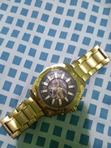 7977ae6785fe3 Relógio da technos legacy dourado grande - Bijouterias, relógios e ...