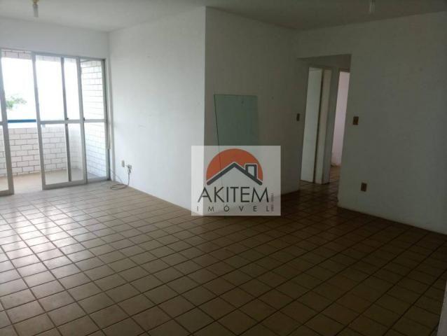 Apartamento com 3 dormitórios à venda, 115 m² por R$ 400.000 - Jardim Atlântico - Olinda/P - Foto 6