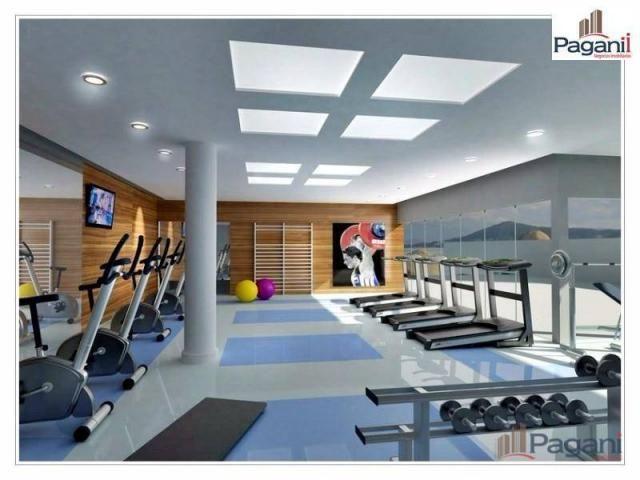 Apartamento com 3 dormitórios à venda, 126 m² por R$ 817.000,00 - Centro - Palhoça/SC - Foto 12