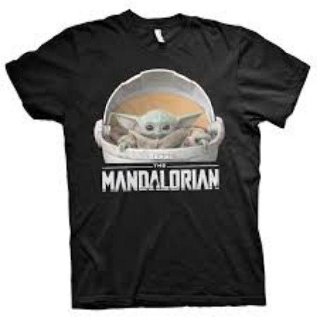 Camiseta T-Shirt Baby Yoda