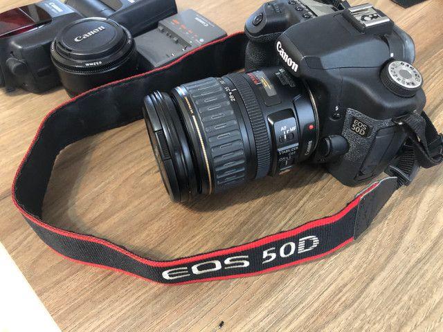 Vendo câmera Canon EOS 50D - Foto 6