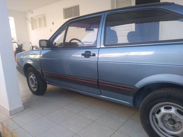 Vendo Troco Gol 1991 azul, 1.6, álcool motor CHT. - Foto 2