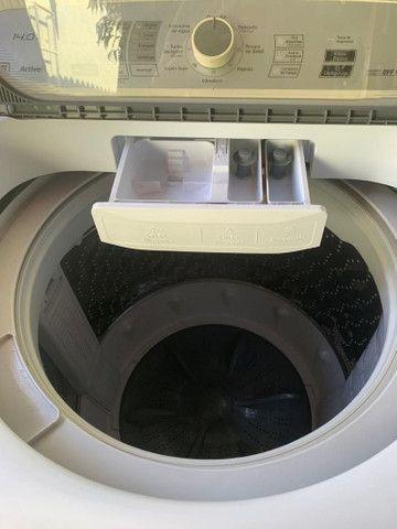 Lavadora de roupas Panasonic 14 kg usada (parcelo no cartão de crédito) - Foto 5