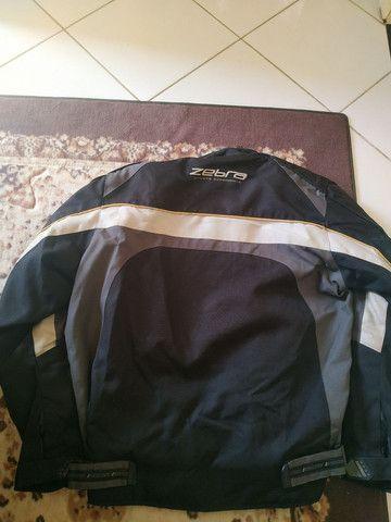 Jaqueta motociclista - Zebra - Usada - ( M )