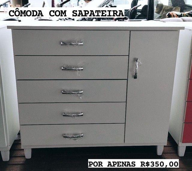COMODAS COM SAPATEIRA NOVA - Foto 2