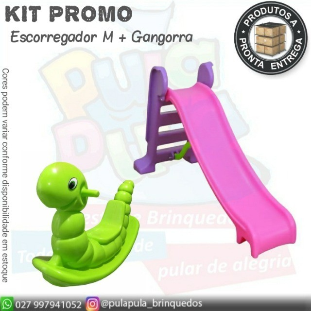 Kit promo(escorregador M+ gangorra) - Foto 4
