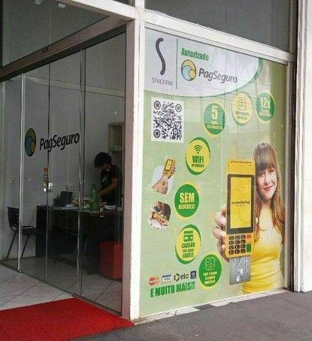 Maquina de cartão Moderninha Pro2 - PagSeguro (Imprimi Comprovante ) - Foto 3