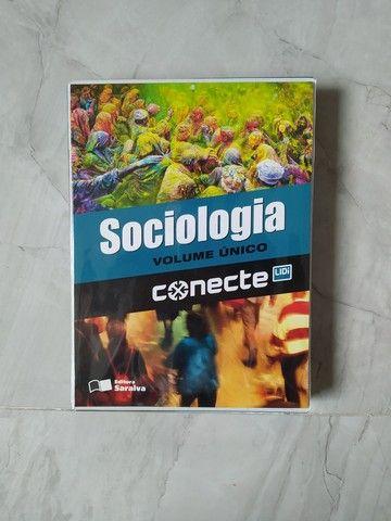 Conjunto contendo 05 livros de Sociologia volume único (Conecte)  - Foto 3