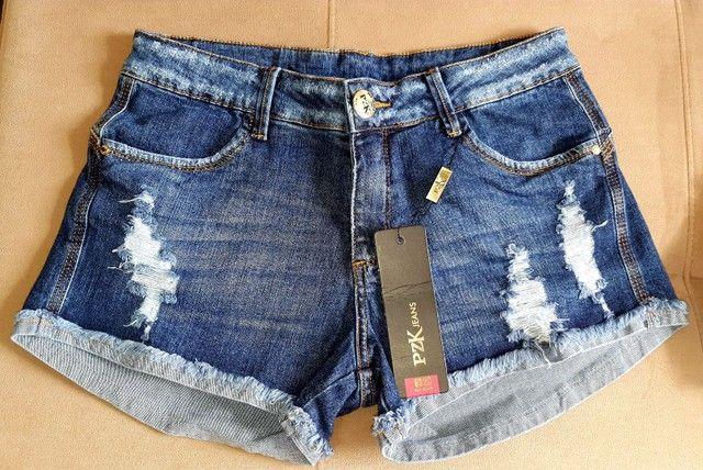 Bermudas Jeans PZK /Via Set - Foto 3