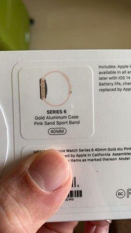 Apple Watch Series 6 40mm lacrado! - Foto 2