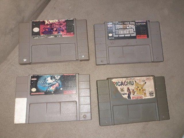 Fitas Super Nintendo