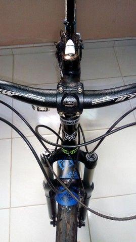 Bicicleta aro 26 quadro Mosso alumínio.