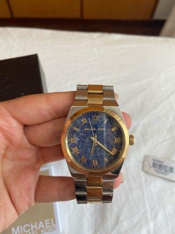 Relógio Michael kors silver gold - Foto 2