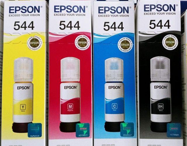 Kit refil de tinta epson 54 c\4 cores am\az\vr\pr - Foto 2