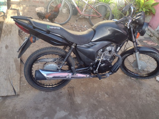 Honda fan 2012 125cc EMPLACADA