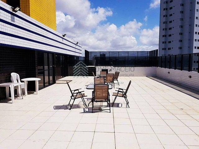 Apartamento para venda com 88 metros quadrados com 3 quartos em Farol - Maceió - AL - Foto 4