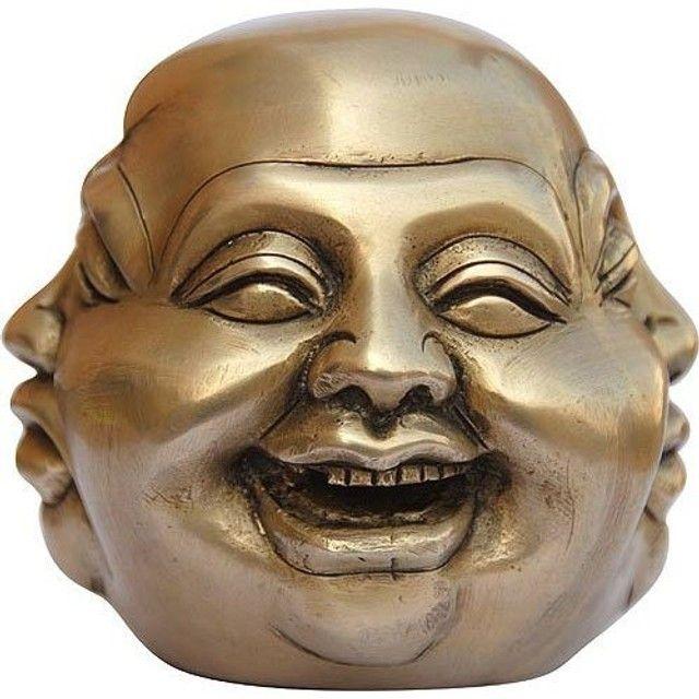 Chaveiro As Quatro Faces de Buda - Foto 6