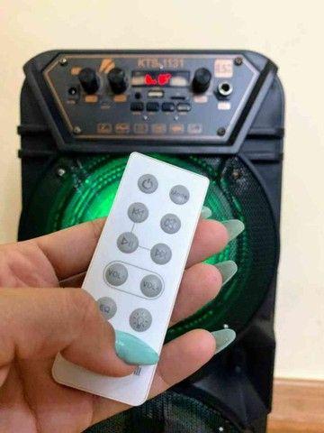 Caixa de som KTS 1131 com controle e microfone - Foto 2