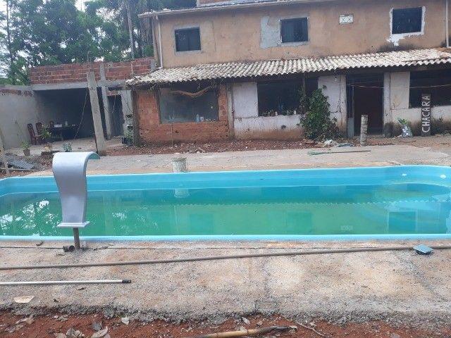 piscina de fibra leds de brinde fibra - Foto 5
