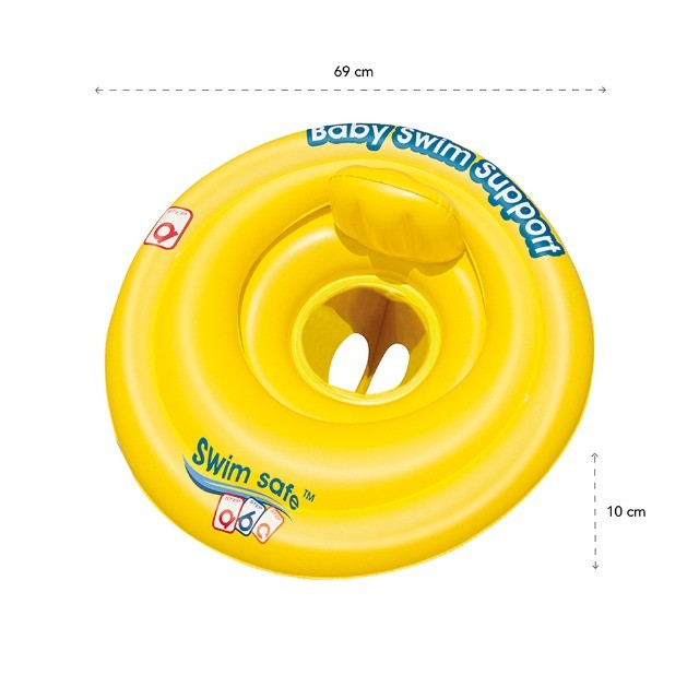 Boia Infantil Circular Tartaruga e Boia  Circular Swim safe abc - Foto 4