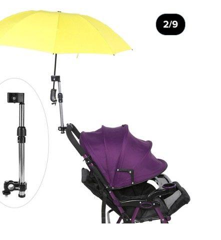 Suporte de guarda chuva para bicicleta - Foto 5