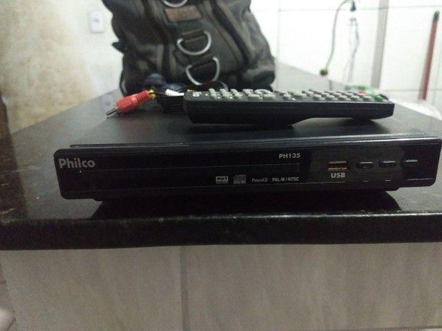 Dvd Philco com controle - Foto 4