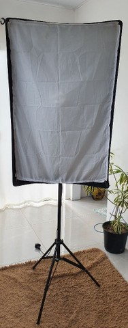 Soft Box Greika 60x90 kit completo - Foto 2