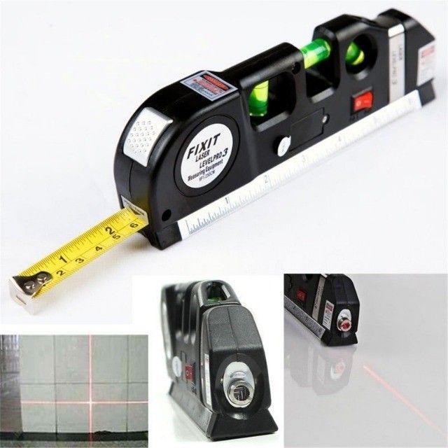 NOVO! Nível a Laser Profissional com Trena
