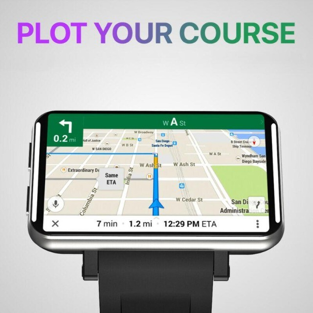 Relógio Inteligente  2,86 polegadas 3GB 32GB lcd 2700mAh  Android 7.1 4G Phone Smartwatch - Foto 5