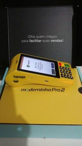 Maquina de cartão Moderninha Pro2 - PagSeguro (Imprimi Comprovante ) - Foto 2