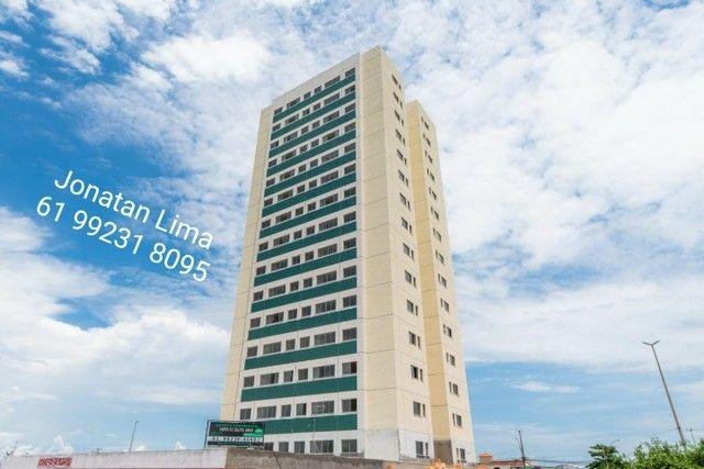 Apartamentos na Samambaia de 2 quartos com suíte-61m²