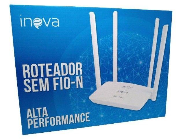 Roteador sem fio-N alta performance Inova