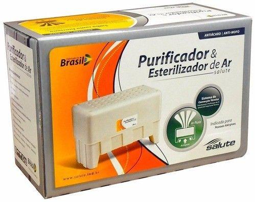 Esterilizador e Purificador de ar para alérgicos
