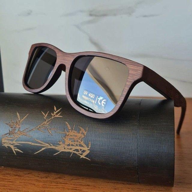Óculos de Sol de Madeira Polarizado