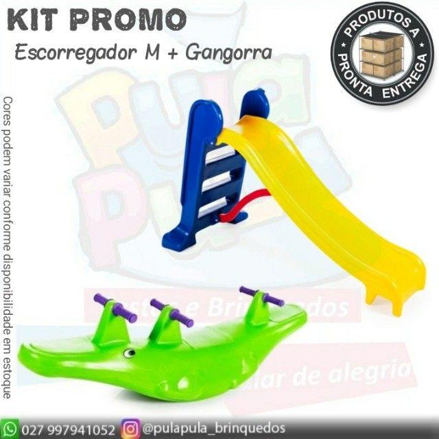 Kit promo(escorregador M+ gangorra) - Foto 6