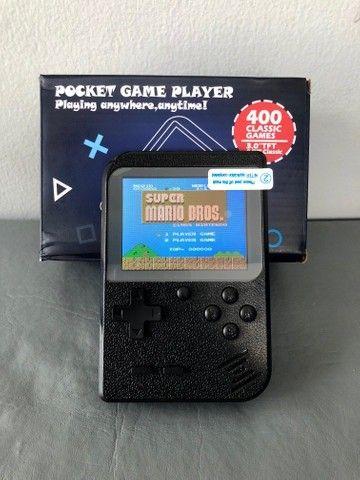 Mini Game Boy retro Portátil 400 Jogos com saida rca - Foto 3