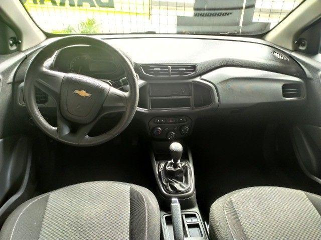 Chevrolet Onix 1.0 Flex 2020 Completo ( Aceitamos troca e financiamos ) - Foto 8
