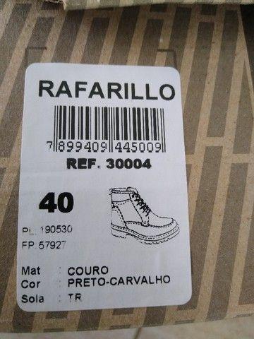 Bota masculina couro legítimo rafarilo - Foto 6