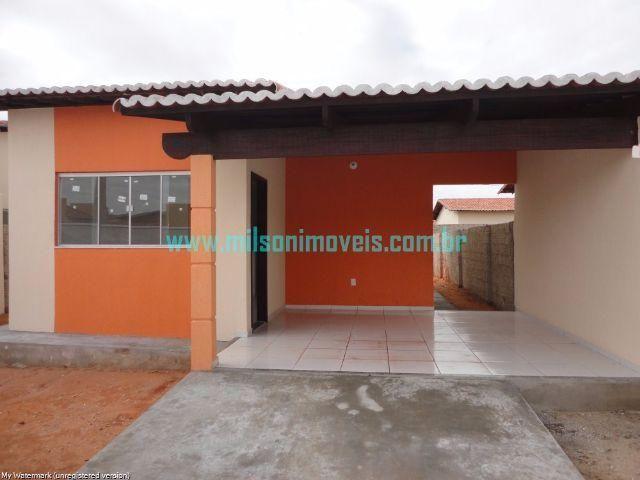 Casa com 3 quartos em Extremoz/RN (Central Parque Clube) - Zero De Entrada