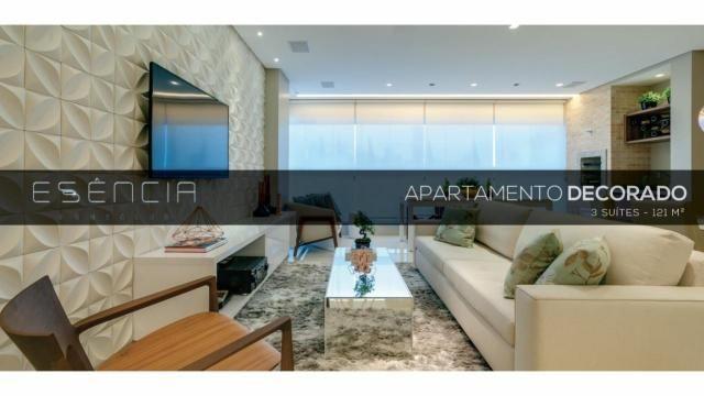 Apartamento 3 Suítes 121m² Próximo ao Vaca Brava - Essência Home Club - Foto 2