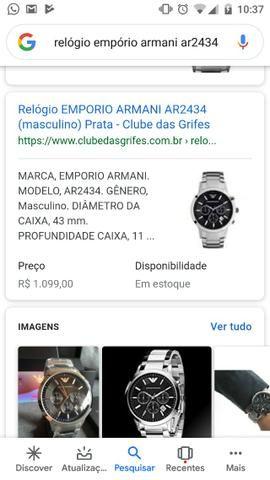 39177adab Relógio Emporio Armani AR2434 - Bijouterias, relógios e acessórios ...