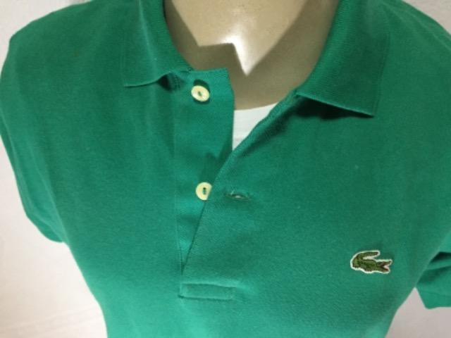 88d0847510b34 Camiseta polo Lacoste original TAM M