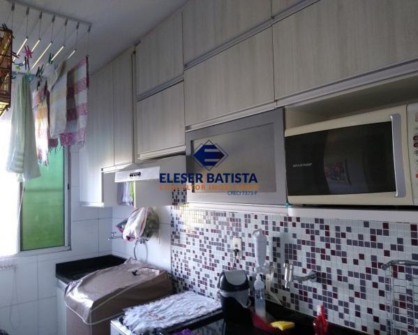 Apartamento à venda com 2 dormitórios em Condomínio vila verde, Serra cod:AP00191 - Foto 7
