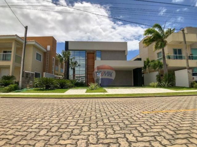 Casa com 4 dormitórios à venda, 360 m² por R$ 1.990.000 - Condomínio Alphaville Fortaleza  - Foto 5