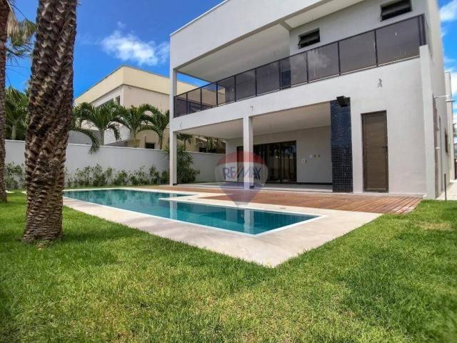 Casa com 4 dormitórios à venda, 360 m² por R$ 1.990.000 - Condomínio Alphaville Fortaleza  - Foto 7