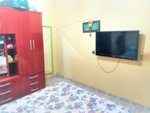 Casa 2 quartos nos fundos, mas kit na lateral,recanto das emas quadra 605 - Foto 6