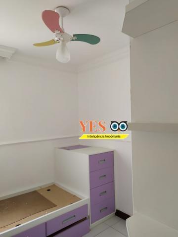 Yes imob - apartamento residencial para locação, 3 dormitórios sendo 1 suíte, 1 sala, 2 ba - Foto 8