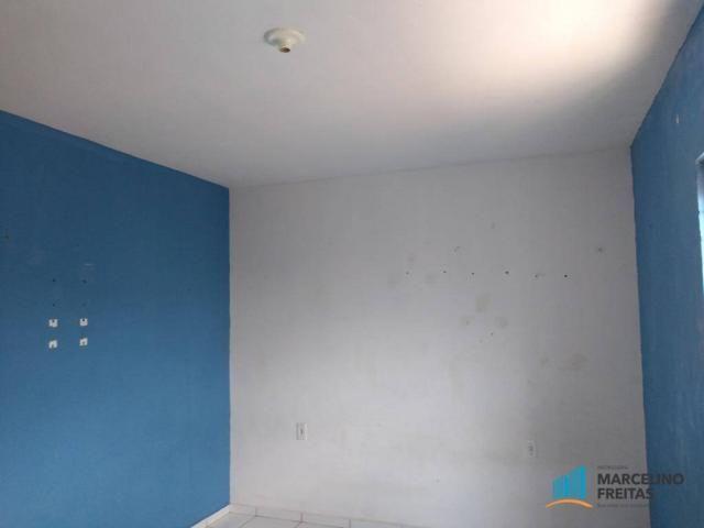 Apartamento com 1 dormitório para alugar, 33 m² por r$ 409,00/mês - barra do ceará - forta - Foto 6